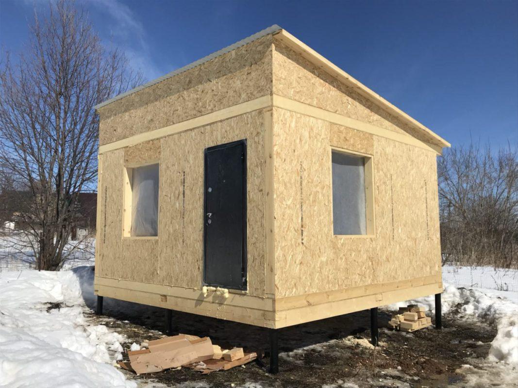 Строительство садового и дачного дома из СИП панелей